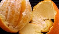 طريقة تجفيف قشر البرتقال