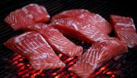 طريقة شوي سمك السلمون