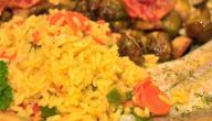 طريقة تحضير أرز الصيادية بالسمك