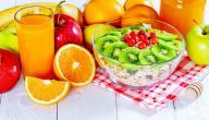 فوائد التغذية السليمة