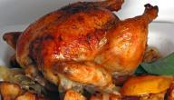 طريقة تحضير الدجاج المحمر المغربي