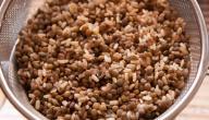 طريقة عمل أرز وعدس