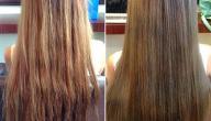 أضرار سحب اللون من الشعر