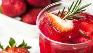 طريقة عمل عصير الفراولة