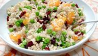 طريقة تحضير سلطة الأرز