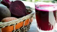 فوائد عصير الشمندر للبشرة