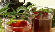 طريقة عمل شاي بالنعناع