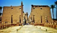 أهم الآثار المصرية