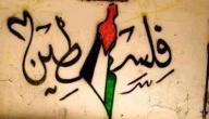 كلام حلو عن فلسطين
