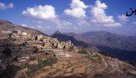 كم مساحة اليمن