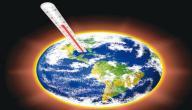 بحث عن ظاهرة الاحتباس الحراري