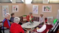 بحث عن رعاية المسنين