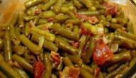 كيفية طبخ لوبيا خضراء