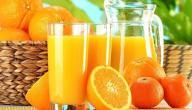ما فوائد عصير البرتقال