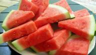 ما فوائد قشر البطيخ