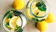 فوائد شرب الليمون مع الماء