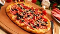 أسرع وصفة بيتزا