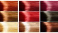 كيف أختار لون شعري