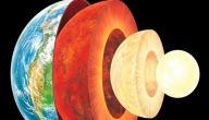 كم عدد طبقات الأرض