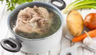 طريقة طبخ لحم الجمل