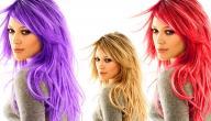 تغير لون الشعر