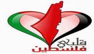 عبارات عن فلسطين