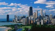 أين تقع مدينة شيكاغو
