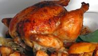 طريقة دجاج محمر مغربي