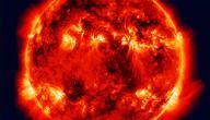 بحث عن خصائص الشمس