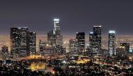 أين تقع مدينة لوس أنجلوس