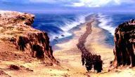 كيف غرق فرعون