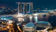أين تقع مدينة سنغافورة