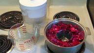 طريقة تحضير ماء الورد في المنزل