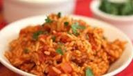 طريقة عمل الأرز بالبصل والطماطم