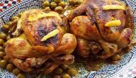 طريقة تحضير دجاج محمر