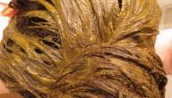 كيف تتخلص من رائحة الحنة من الشعر