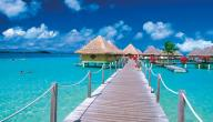 أين تقع جزيرة تاهيتي