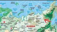 أين تقع سيبيريا على الخريطة
