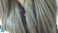كيف أحصل على لون شعر أشقر رمادي