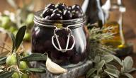 كيفية تخليل الزيتون الاسود