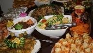 طريقة ترتيب سفرة العشاء