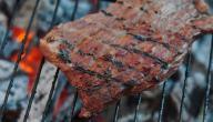 طريقة شوي لحم البقر