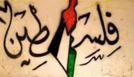 كلمات قصيرة عن فلسطين