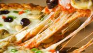 طريقة عمل بيتزا الزعفران والفانيلا