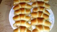 طريقة لف فطائر الكروسان