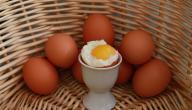 كم السعرات الحرارية في البيض