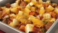 طريقة عمل يخنة الدجاج والبطاطس