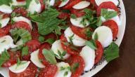 طريقة عمل جبنة بالطماطم