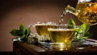 الشاي الأخضر ومتى يشرب