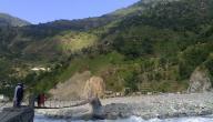 أين يصب نهر السند